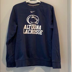 Penn state Altoona lacrosse crew neck